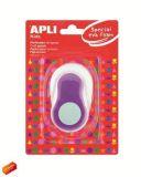 Ozdobná děrovačka, kulatý otvor, fialová, APLI Creative