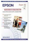 Fotografický papír, do inkoustové tiskárny, pololesklý, A3+, 251g, EPSON ,balení 20 ks