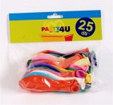 Balónky, 26 cm, mix barev ,balení 25 ks