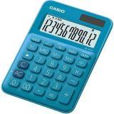 Kalkulačka MS 20 UC, modrá, stolní, 12 místný displej, CASIO