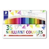 Barevné pastelky Ergo Soft, 14 barev, trojhranné, STAEDTLER 157 M36