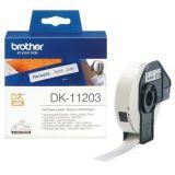 Páska pro QL tiskárnu, papír, 17 mm x 87 m, BROTHER