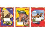 Školní sešit 444, A4, linkovaný, 40 listů ,balení 10 ks