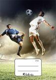 Sešit Fotbal,A5, čtverečkovaný, 32 listů, VICTORIA