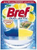 WC blok Duo Aktiv, citron, gel, 50 ml, BREF