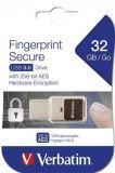 USB flash disk klíč Bluetooth&Finger Print, 32GB, USB 3.0, VERBATIM