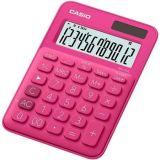 Kalkulačka MS 20 UC, magenta, stolní, 12 místný displej, CASIO