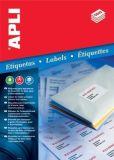 Etiketa, ILC, 38x21,2 mm, pětiřadé, 6500 ks/bal., APLI ,balení 100 ks