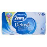 Toaletní papír, 3vrstvý, 8 rolí,  ZEWA Deluxe, bílý ,balení 8 ks