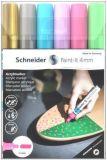 120296 Akrylové popisovače Paint-It 320, sada 6 barev, 4 mm, SCHNEIDER