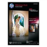 Fotografický papír, do inkoustové tiskárny, lesklý, A4, 300g, HP ,balení 20 ks