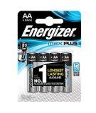 Baterie Max Plus, AA, 4 ks, ENERGIZER