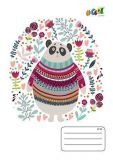 Sešit Cute bears, A5, mix motivů, čtverečkovaný, 32 listů, COOL by Victoria