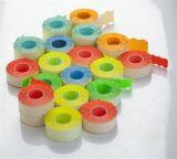 Cenové etikety, 25x12 mm, žluté ,balení 10 ks