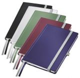 Zápisník Style, titanově modrá, čtverečkovaný, A5, 80 listů, LEITZ