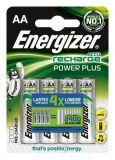 Nabíjecí baterie, AA, 4x2000 mAh, ENERGIZER Power Plus