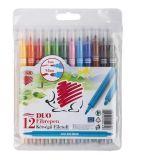 Fixy 300 DUO, 12 barev, 1 mm, ICO