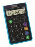 Kalkulačka GVA-612K, modrá, stolní, 8místný displej, VICTORIA