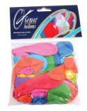 Balónky, 18 cm, mix barev ,balení 60 ks