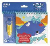 Omalovánky Aqua Fun, voda, APLI