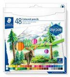 Pastelky Design Journey, 48 různých barev, sada, šestihranné, STAEDTLER