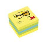 Samolepicí bločky Post-it minikostky - citronová / 400 lístků