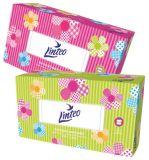 Linteo kosmetické papírové kapesníky 2-vrstvé 200 ks