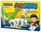 Sada foukacích popisovačů Centropen Air Pens Dinosaur 5+1