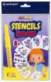 Šablony pro foukací fixy Centropen 9996 - F / květiny