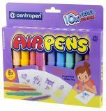 Popisovače Centropen Airpens 1500 Pastel sada 10 ks