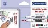 Značkovač Centropen 8559 stíratelný - sada 4 ks