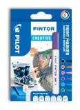 Pilot Pintor 4074 F popisovače Creative akryl sada 6ks
