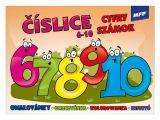 omalovánky Číslice 6-10 5300928