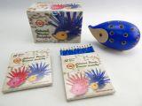 ježek malý Koh-i-noor 9960M s pastelkami modrý