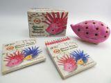 ježek malý Koh-i-noor 9960M s pastelkami růžový MAGIC