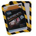 Magnetický obal Magneto Safety, žlutá-černá, A4, TARIFOLD ,balení 2 ks