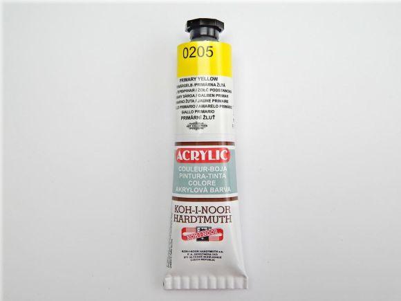 Barva 162708 / 0205 žluť prim.akrylová 40m