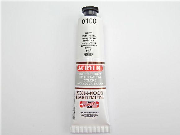 Barva 162711 / 0100 bílá akrylová 40 ml