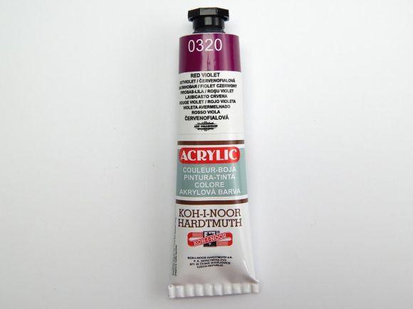 Barva 162730 / 0320 sv. fialová akrylová 40