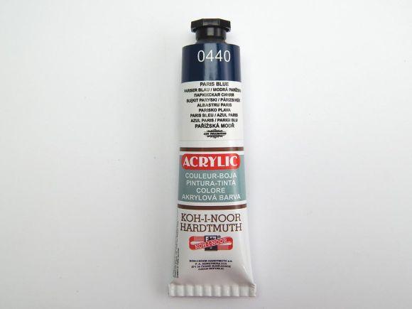 Barva 162733 / 0440 tm. modrá akrylová 40ml