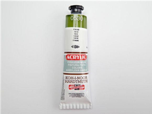 Barva 162737 / 0530 khaki akrylová 40ml