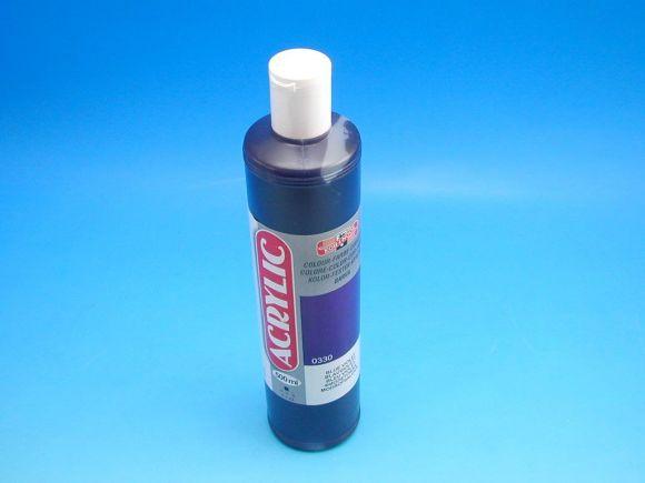 akrylová barva Koh-i-noor 500 ml modrofialová