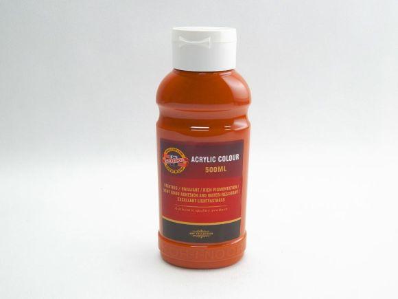 Barva akrylová 500ml hněď světlá Koh-i-noor 1627/0640