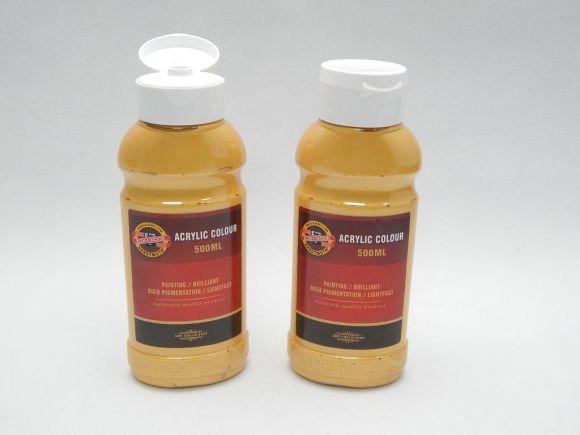 Barva akrylová 500ml  zlatá Koh-i-noor 1627/0830