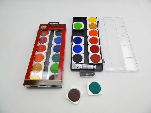 barvy vodové umělecké krycí 175504