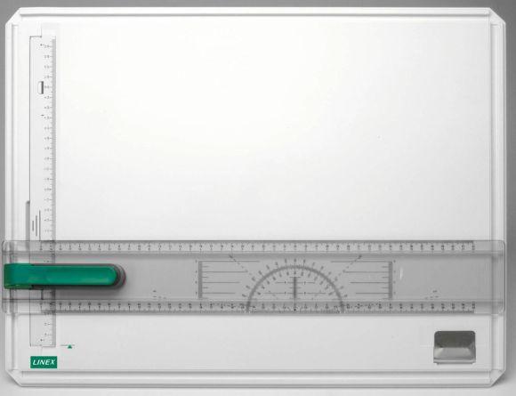 Rýsovací plastové prkno s příložníkem Linex A3