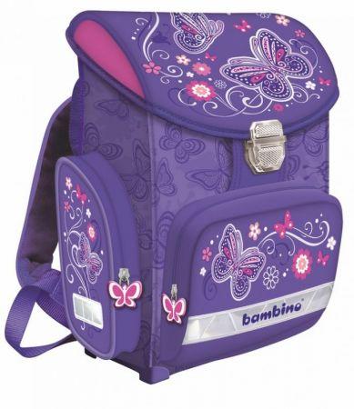 Školní taška BAMBINO, BUTTERFLY COLLECTION
