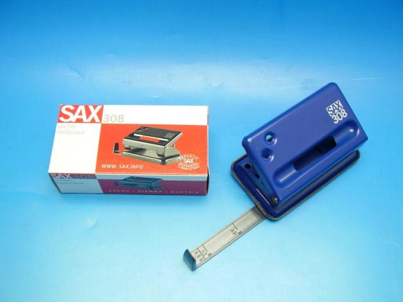 Děrovačka SAX 308 modrá