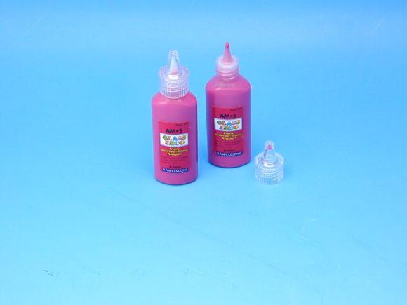 Barva 1502 POPPY RED na sklo 22ml