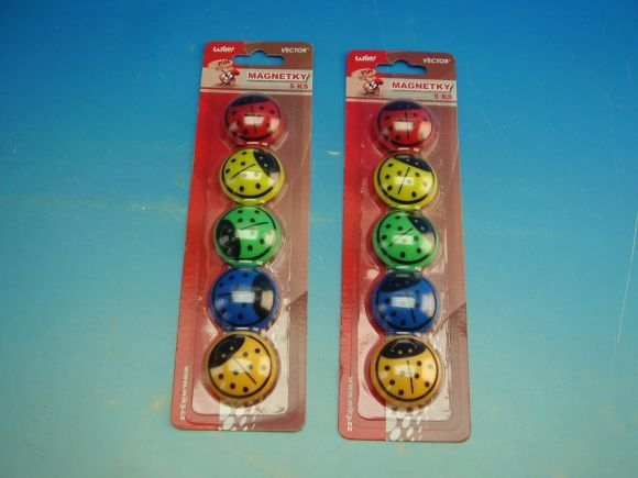 Magnet 816053 Berušky 35mm, 5 ks